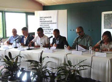 Vilassar, Premià, Cabrils y Cabrera suman esfuerzos para preservar la Vall de Sant Mateu