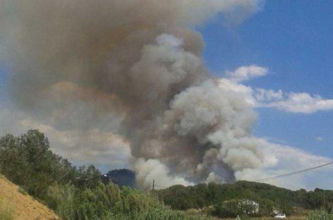 80 vecinos de Tordera evacuados durante unas horas a causa del incendio de Blanes
