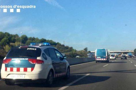 Interior proyecta suprimir los Mossos de Tráfico de Mataró