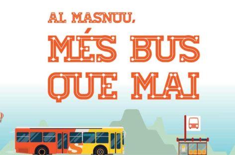 El Masnou tendrá autobús urbano los domingos y festivos