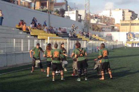 El campo municipal de deportes de Mataró estrena gradas