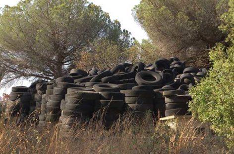 El Síndic de Greuges investiga al Ayuntamiento de Arenys de Mar por el vertedero de neumáticos