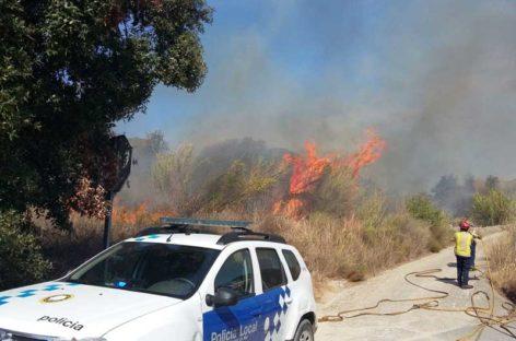 La Diputación detecta 135 puntos con riesgo de incendios en el Maresme