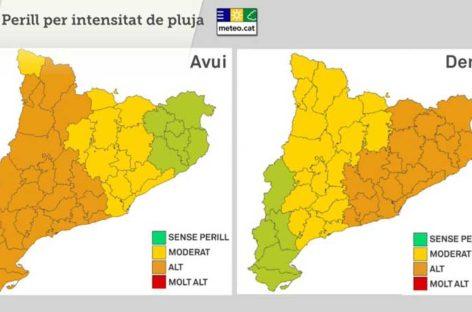 Protección Civil pide que se extremen las precauciones por el episodio de lluvias que llega esta noche