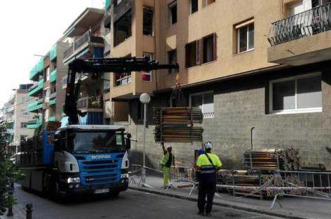 24 de las 36 familias afectadas por la explosión de Premià ya están realojadas