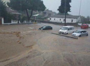 Vilassar de Mar y Premià de Mar muy afectadas por la tromba de agua caída sobre el Maresme