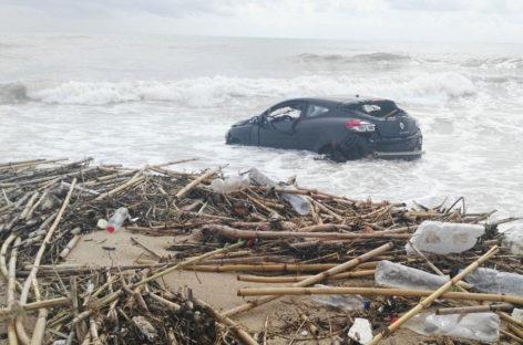 Vilassar: en tres días cayó la misma lluvia que en todo un año