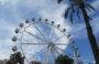 La Noria Monumental de 53 metros vuelve a ser la estrella de la Feria de Atracciones de Mataró