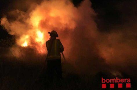 Se dispara en el Maresme el número de incendios por Sant Joan