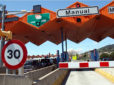 Una conductora fallece en la C-32 al estrellarse contra el peaje de Vilassar