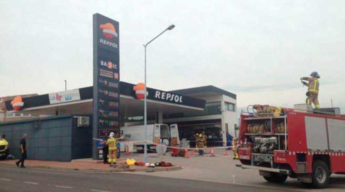 Detienen el gerente de la empresa de Mataró Control Tank por la muerte de dos de sus empleados en una gasolinera