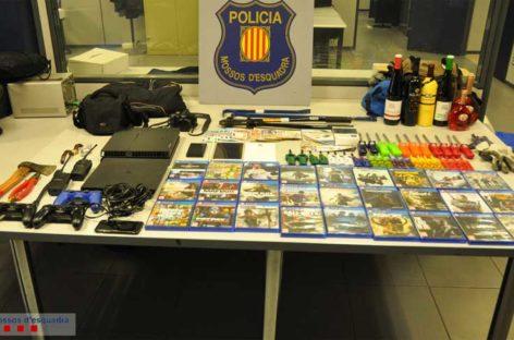 Detenida una banda que asaltaba gasolineras y establecimientos en Canet, Alella y Teià