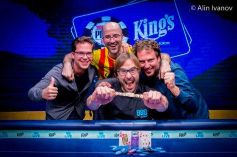 El mataronense Martí Roca hace historia ganando las WSOPE de póker