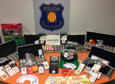Desmantelada en Argentona una timba ilegal de Poker