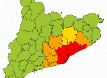 Se activa el plan de emergencias por nevadas en todo el Maresme