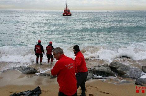 La ballena de Montgat es transportada hasta Badalona para ser incinerada