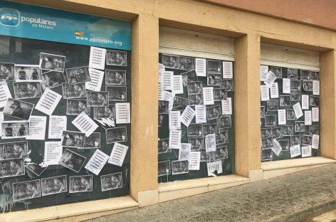 Escalada de agresiones contra el PP de Mataró