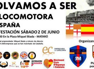 """Convocan una manifestación en Mataró para """"volver a ser la locomotora de España"""""""