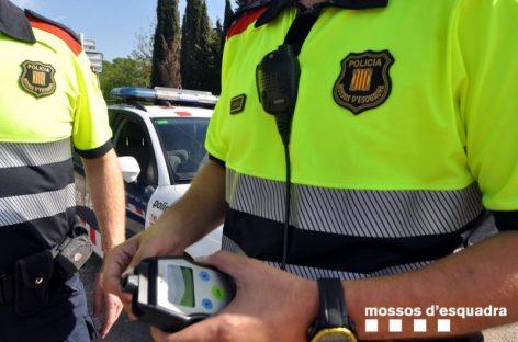 Detenida en Tordera una mujer por conducir bebida y provocar un accidente en que hubo un herido grave