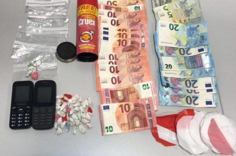 La policía de Malgrat detiene a un hombre de 75 años con 41 papelinas de heroína