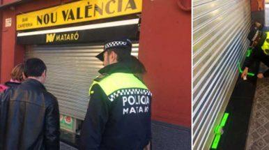 Mataró precinta el bar del barrio de Cerdanyola donde se produjo un herido en una reyerta