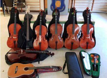 Detenido un joven de Mataró por robar los violines de una escuela de música