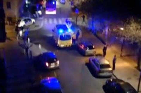 Dos personas resultan heridas en Mataró al ceder un forjado de su vivienda