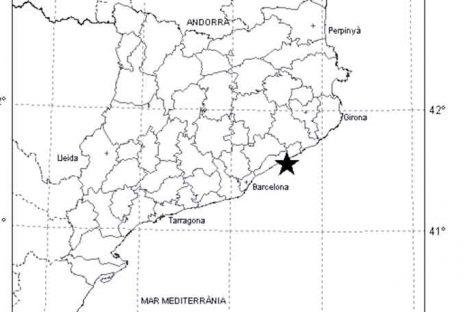 Se percibe un terremoto con epicentro en la Costa del Maresme